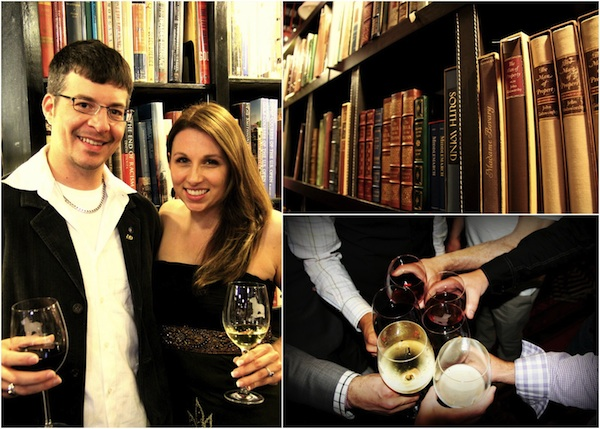 Rehearsal Dinner at The Book Exchange and Champagne Bar in Asheville