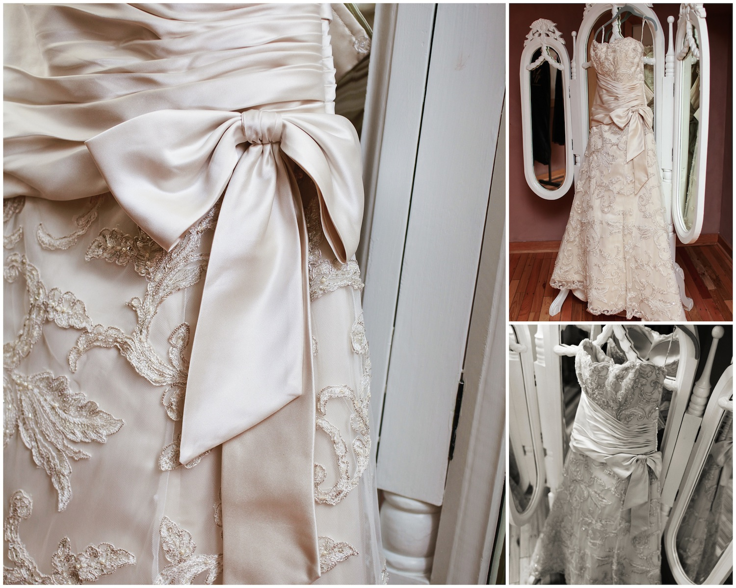 Can I talk about my wedding dress for a second?