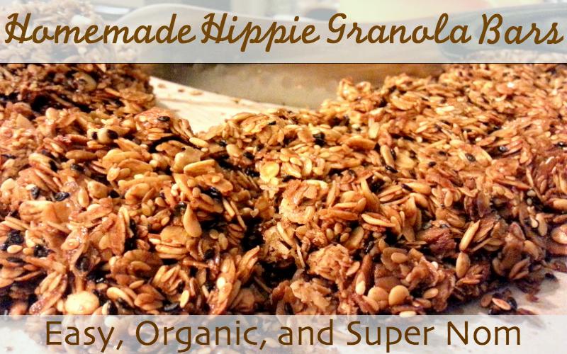Awesome Organic Hippie Granola Recipe!